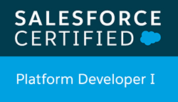 salesforce certified Platform Dev 1