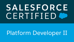 salesforce certified Platform Dev 2